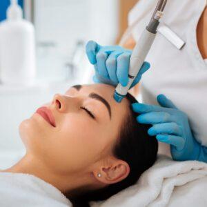 HydraFacial PERK eye treatment